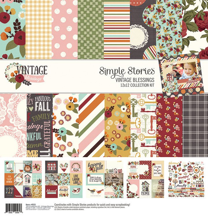 Simple Stories Vintage Blessings collection
