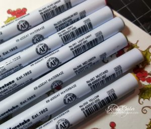 Zig-Clean-Color-Brush-Markers-Kuretake-Creative-Scrapbooker-Magazine