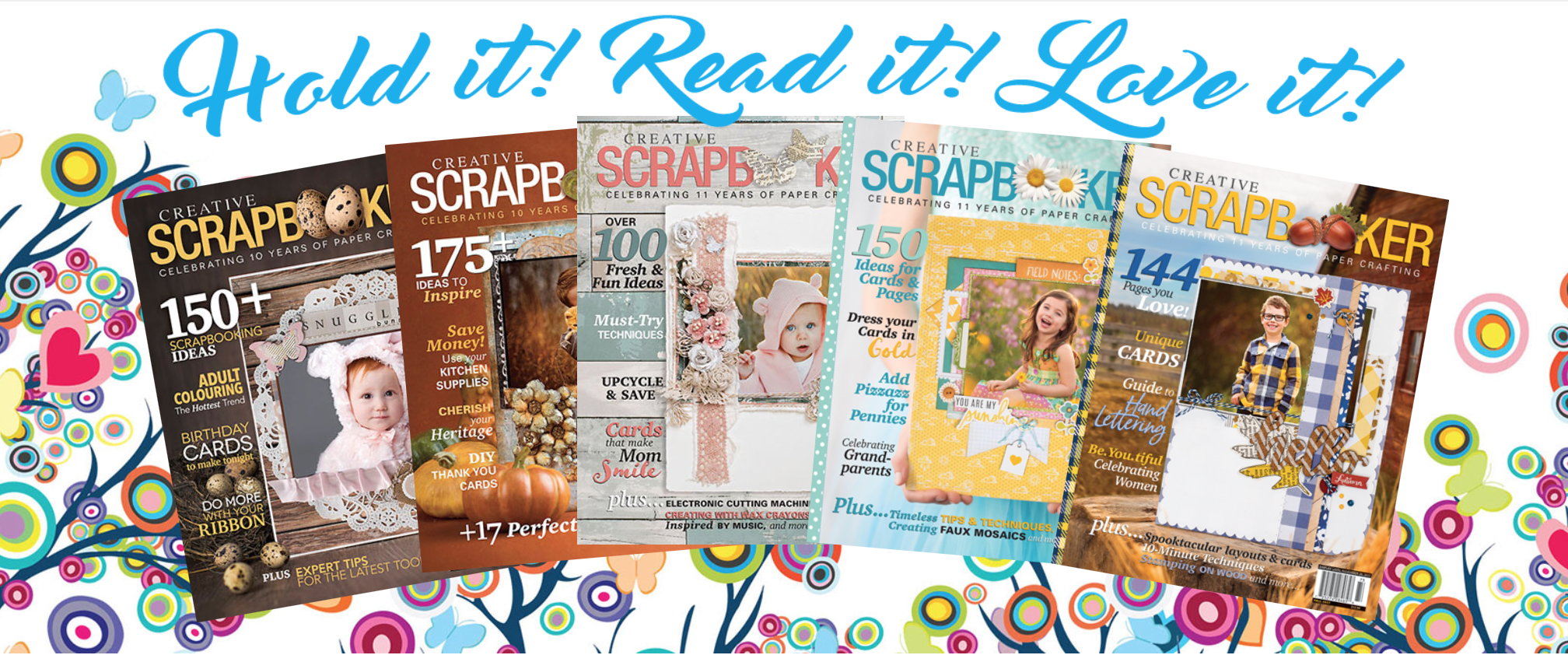 Creative Scrapbooker Magazine subscription / Quarterly paper publication / HOLD it, LOVE it, READ it