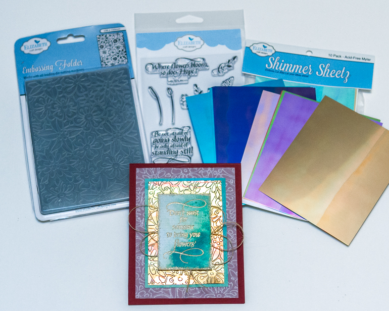 CSM Spotlight on Elizabeth Craft Designs / Embossing and stamping / Card making