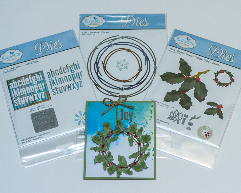 CSM Spotlight on Elizabeth Craft Designs / Die cutting products / Christmas card