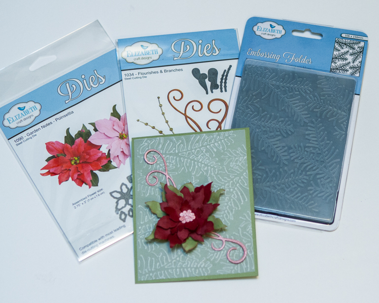 CSM Spotlight on Elizabeth Craft Designs / Christmas Card // die cutting & embossing
