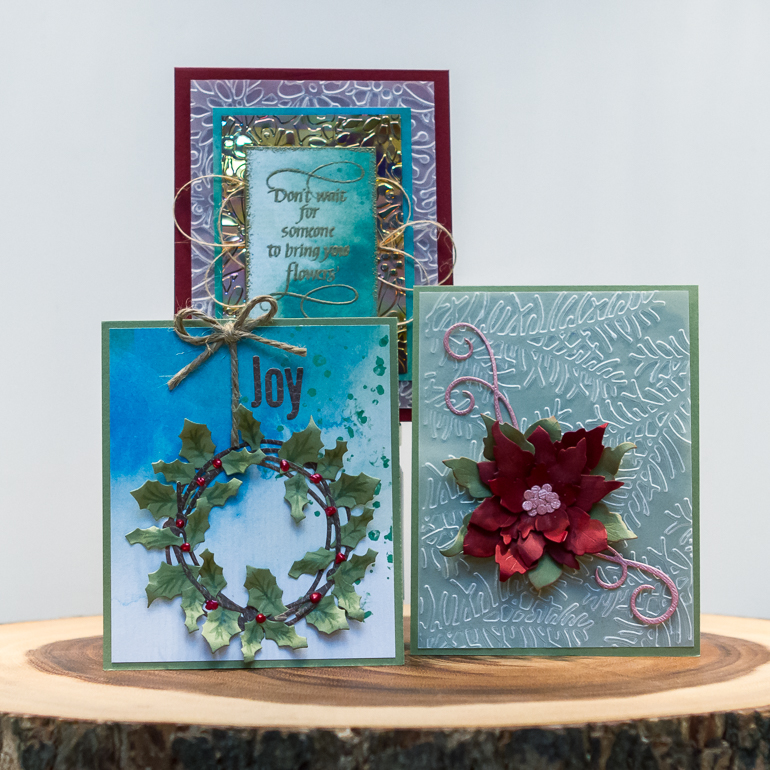 CSM Spotlight on Elizabeth Craft Designs / card making fun / Christmas card ideas
