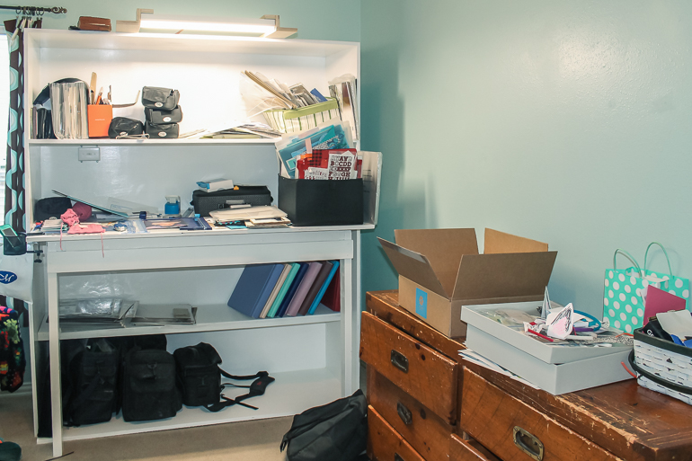 Where You Create / Scrapbooking Space of Susan Sturgis / craft room