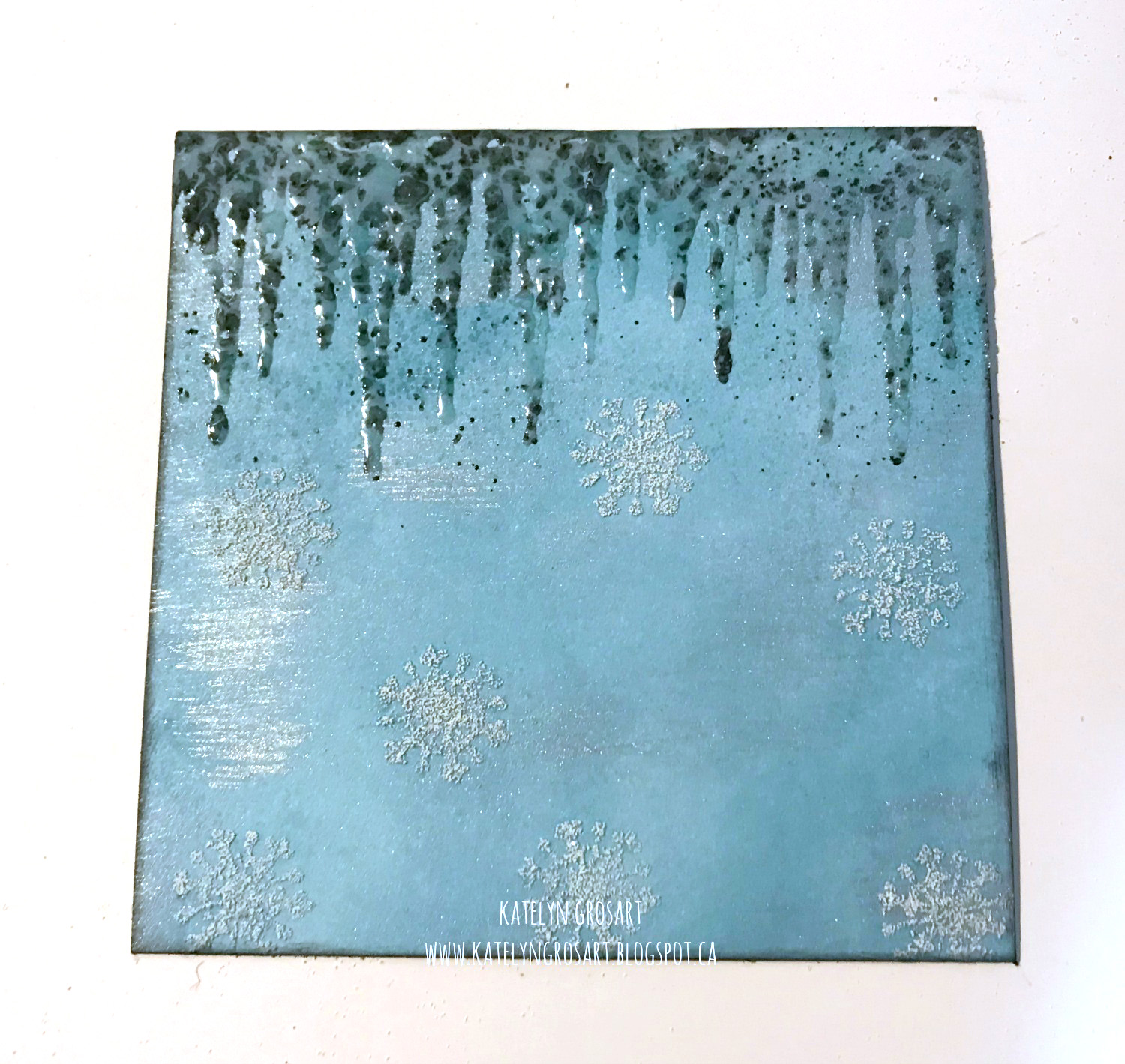 Winter Note Card | Designed by Katelyn Grosart | C ardmaking | Creative Scrapbooker Magazine