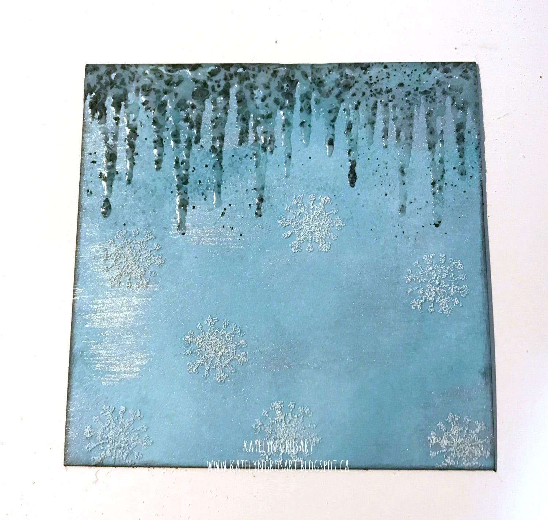 Winter Note Card | Designed by Katelyn Grosart | C ardmaking | Creative Scrapbooker Magazine