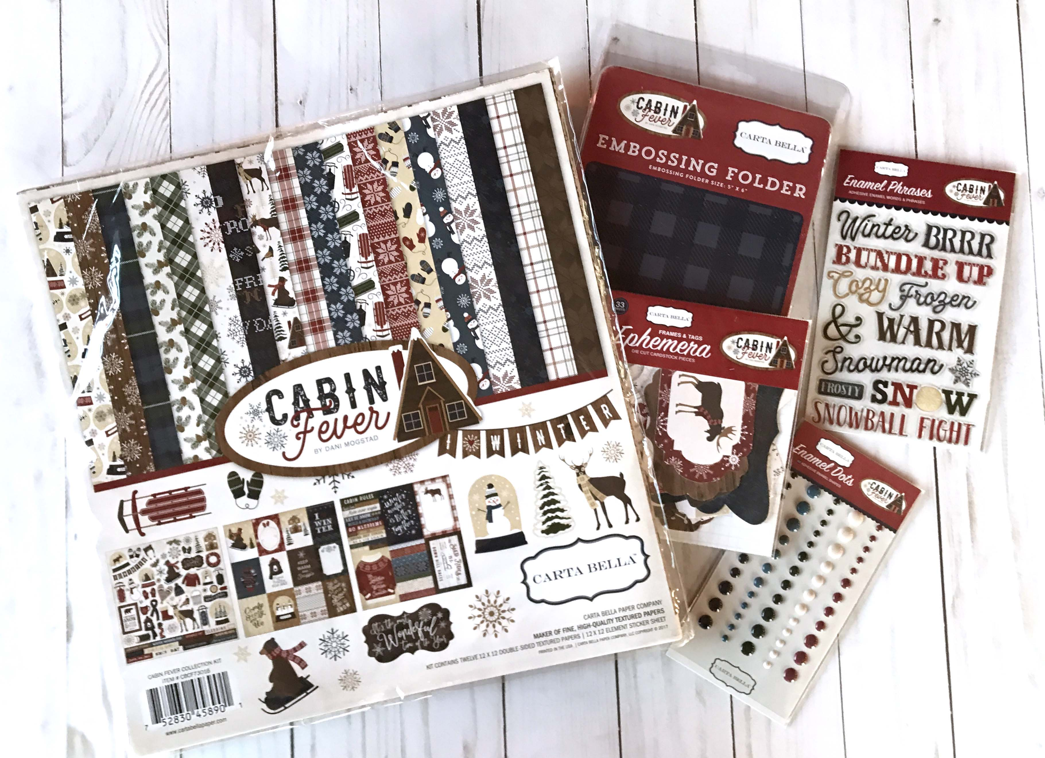 12 Days of Giving | Christmas Giveaway | Creative Scrapbooker Magazine | Featuring Echo Park Paper Co.