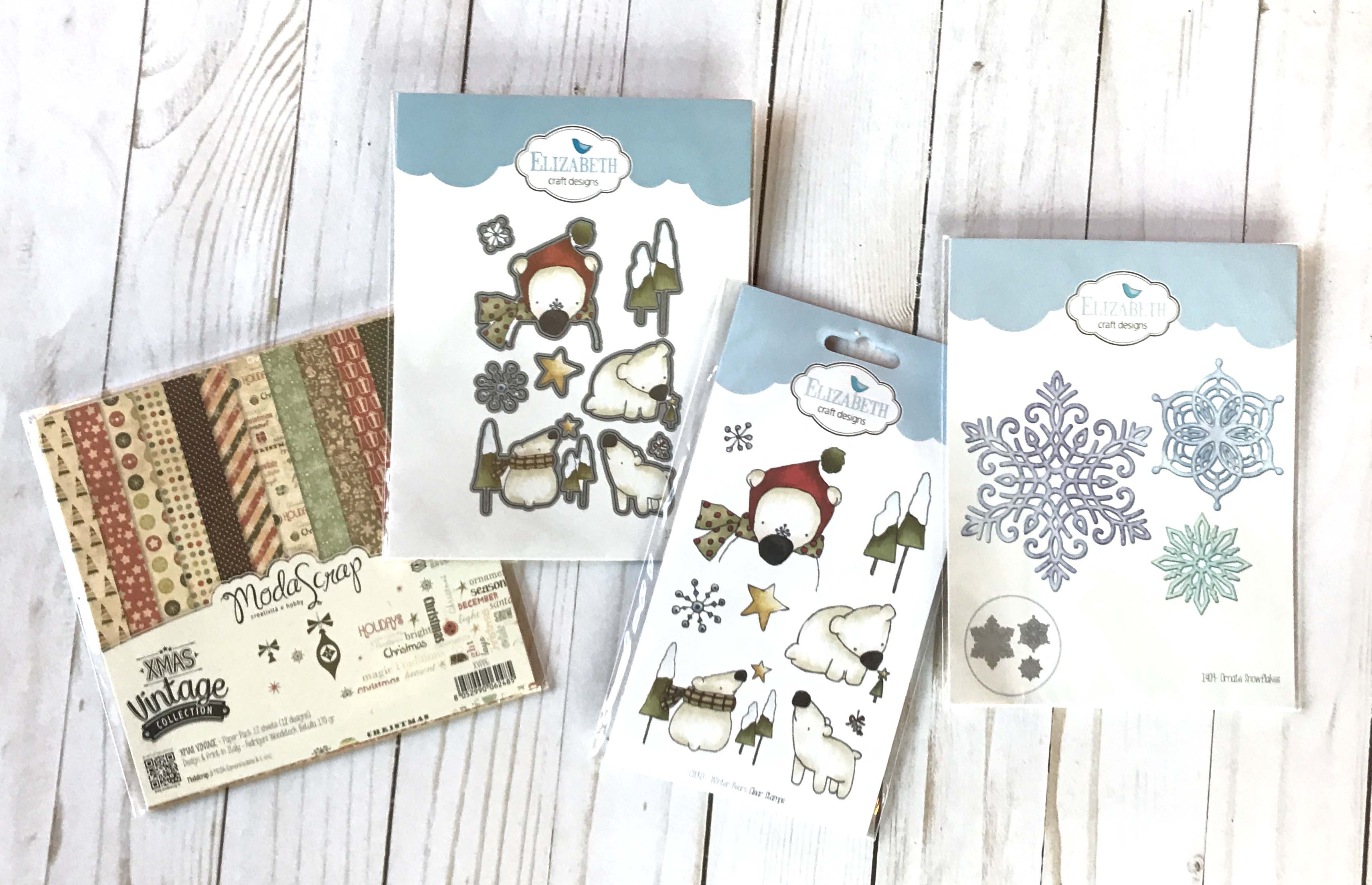12 Days of Giving | Christmas Giveaway | Creative Scrapbooker Magazine | Featuring Elizabeth Craft Designs