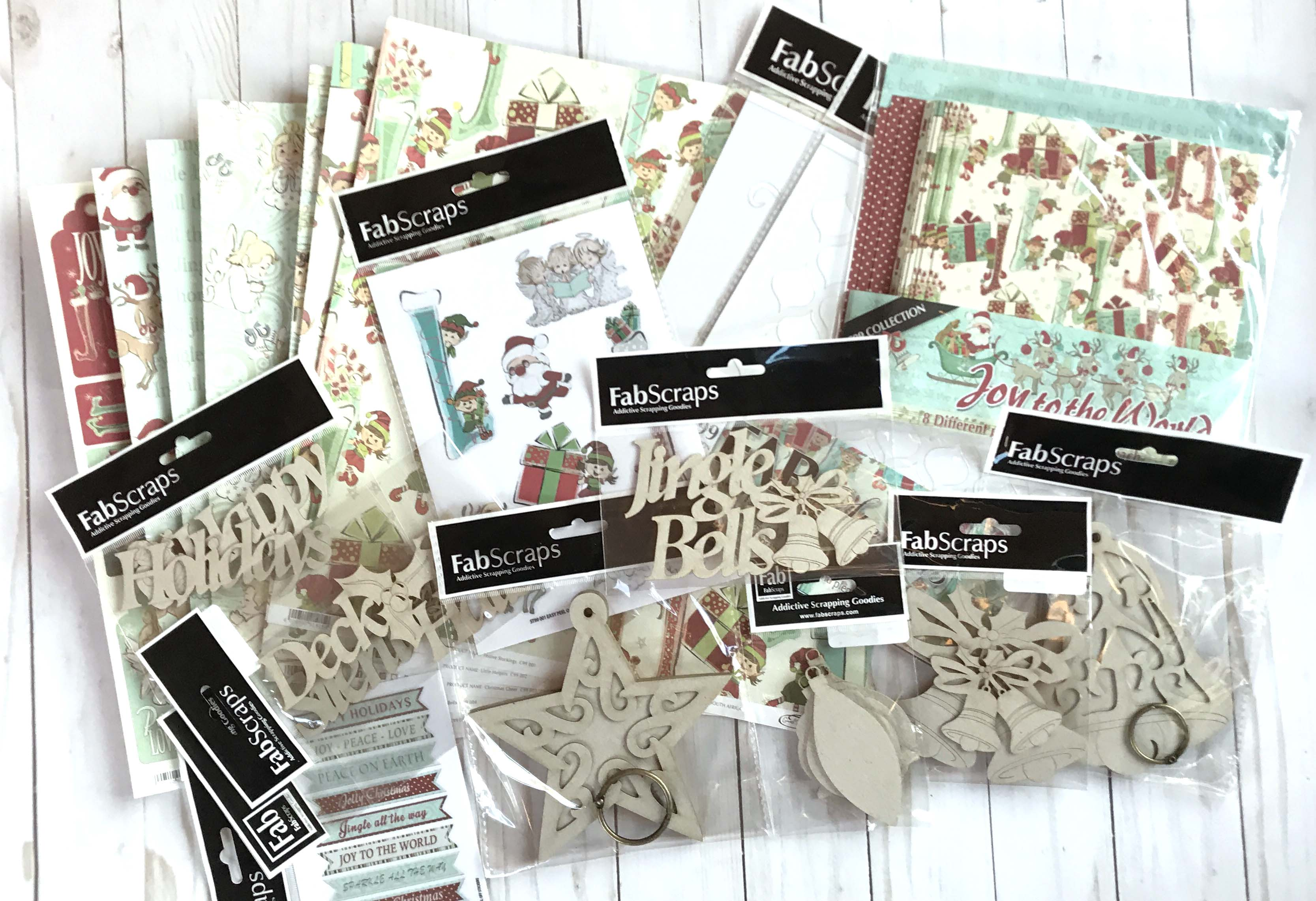 12 Days of Giving | Christmas Giveaway | Creative Scrapbooker Magazine | Featuring FabScraps