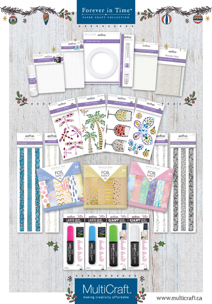 12 Days of Giving | Christmas Giveaway | Creative Scrapbooker Magazine | Featuring MultiCraft