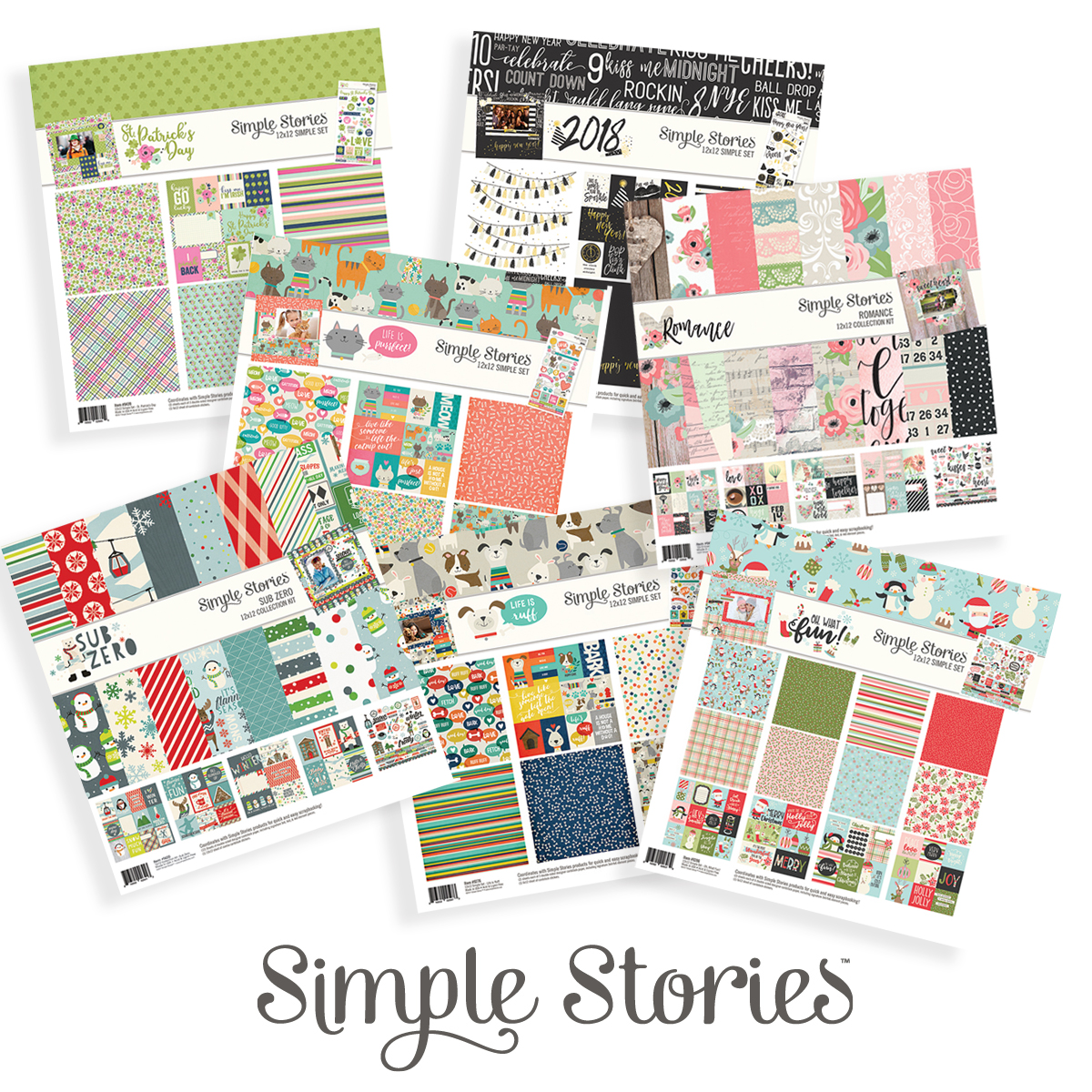 12 Days of Giving | Christmas Giveaway | Creative Scrapbooker Magazine | Featuring Simple Stories