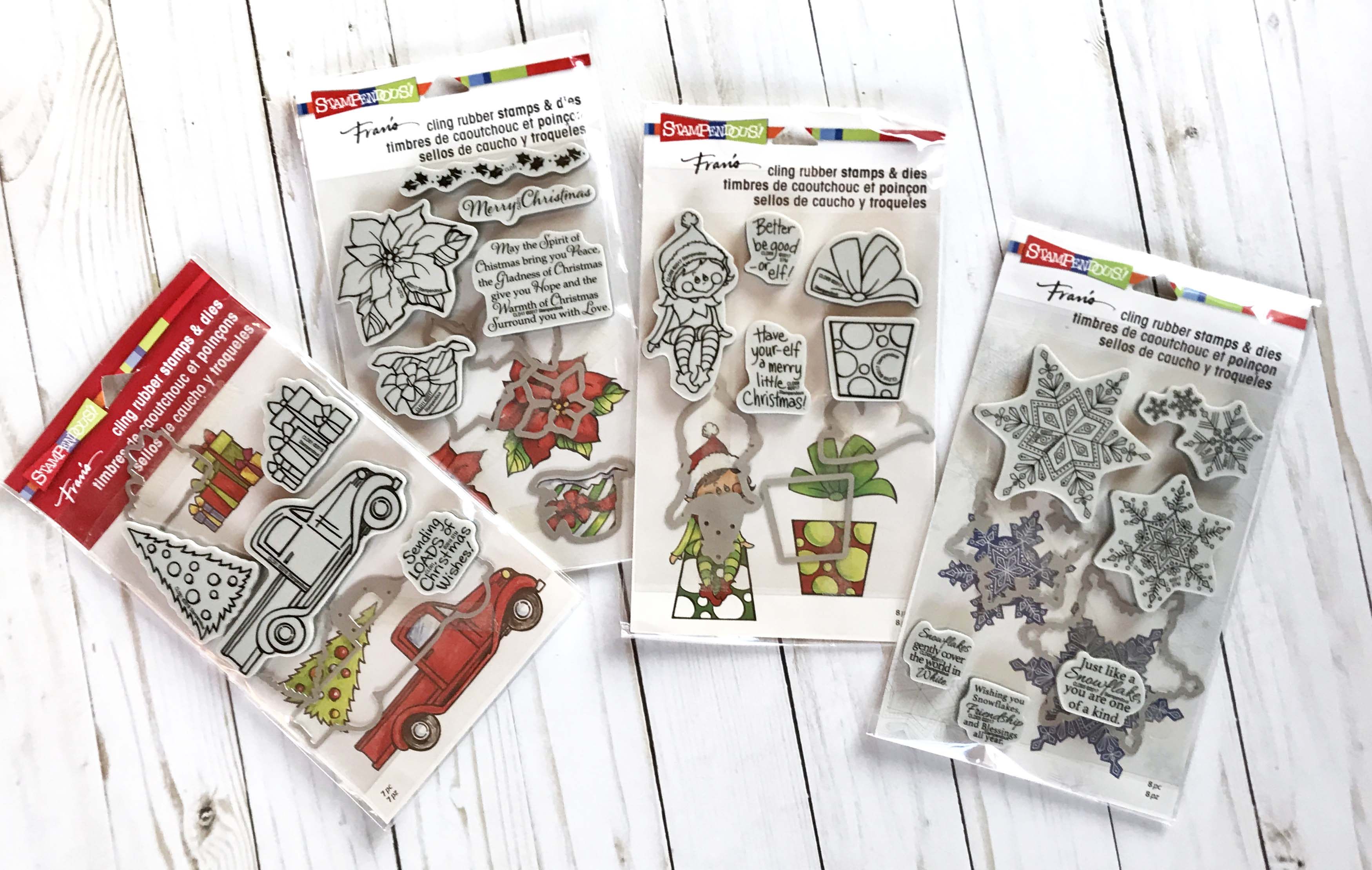 12 Days of Giving | Christmas Giveaway | Creative Scrapbooker Magazine | Featuring Stampendous