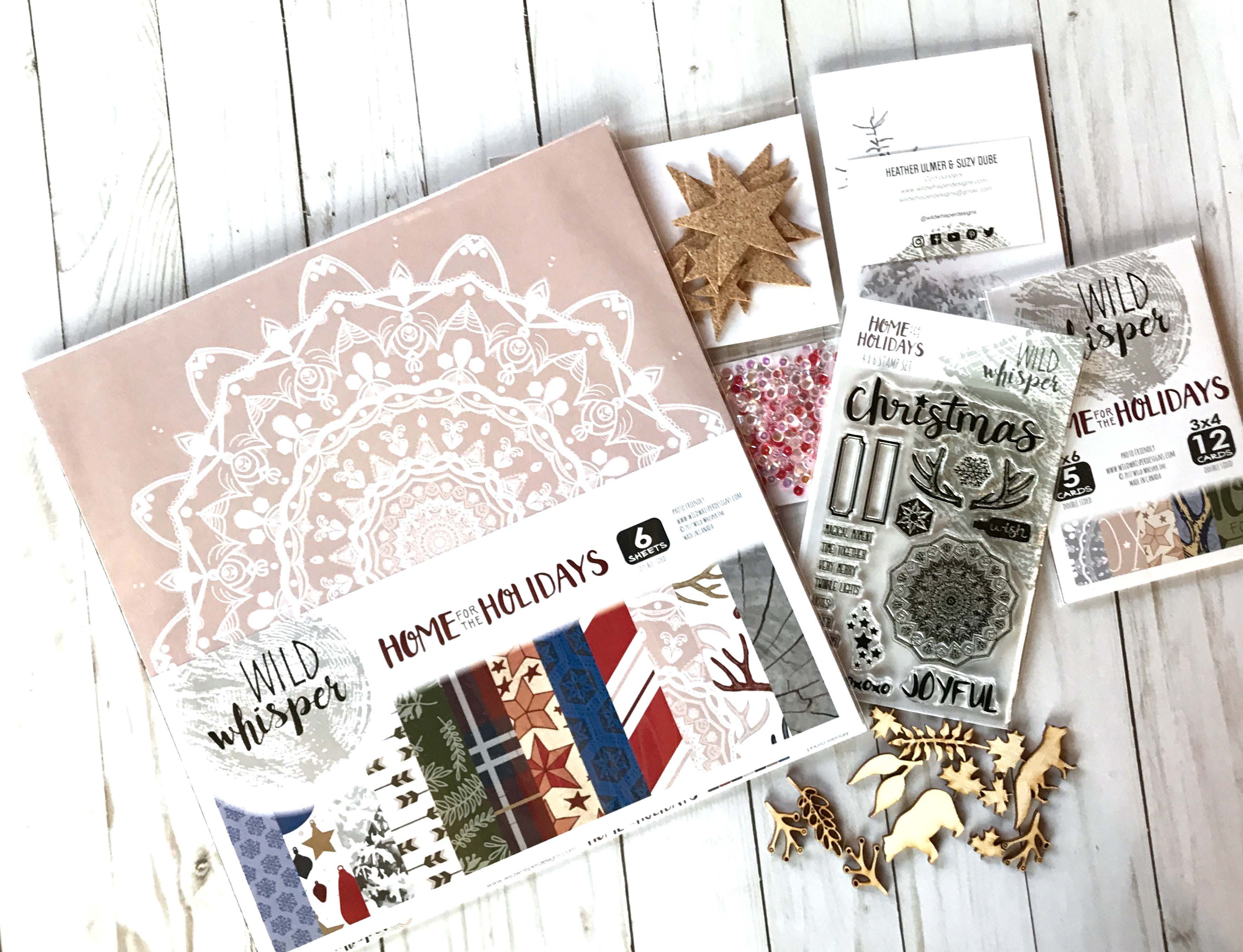 12 Days of Giving | Christmas Giveaway | Creative Scrapbooker Magazine | Featuring Wild Whisper Designs
