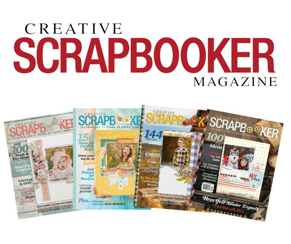 12 Days of Giving | Win a ONE YEAR subscription to Creative Scrapbooker Magazine #giveaway #12Days #christmas