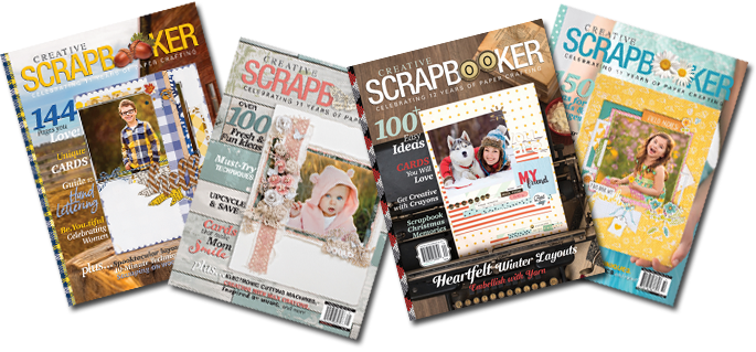 Creative Scrapbooker Magazine / subscription / newsstands / scrapbooking / cardmaking