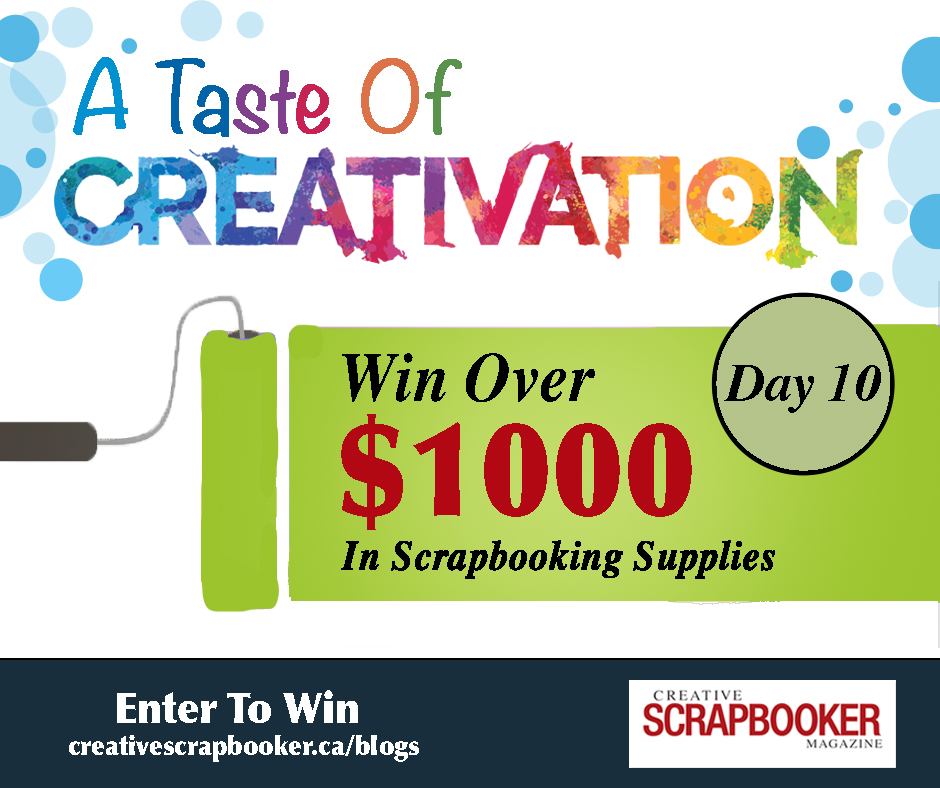 Creativation Giveaway Day #10 | Creative Scrapbooker Magazine
