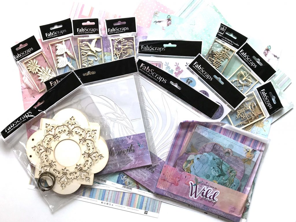 FabScraps Scrapbooking Giveaway | Why Not Win Wednesday | Creative Scrapbooker Magazine