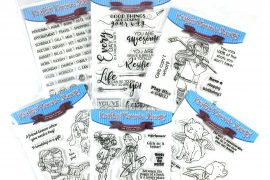 Kraftin' Kimmie Stamp Sets | Giveaway | Creative Scrapbooker Magazine
