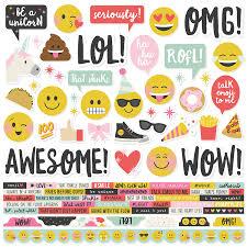 Simple Stories Emoji Love Collection | Creative Scrapbooker Magazine