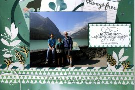 connie nichol, wild whisper designs, lake louise