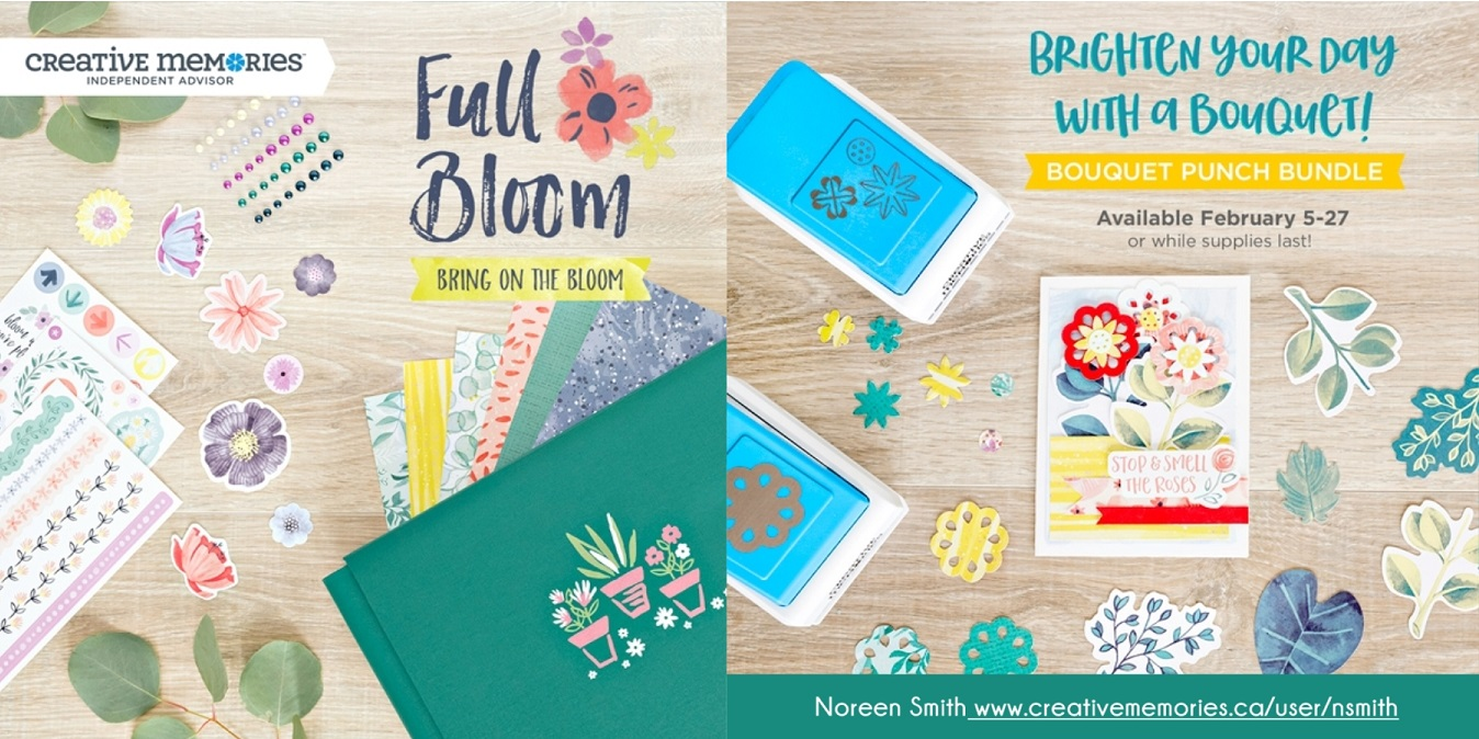 Full Bloom Collection by Creative Memories