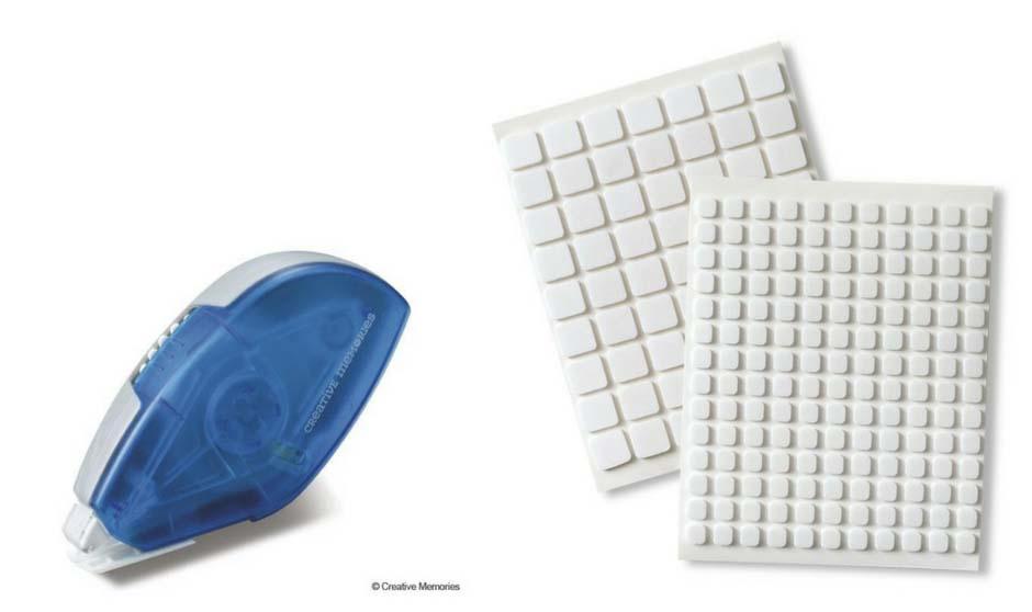 Creative Memories Tape Runner and Foam Squares | Creative Scrapbooker Magazine