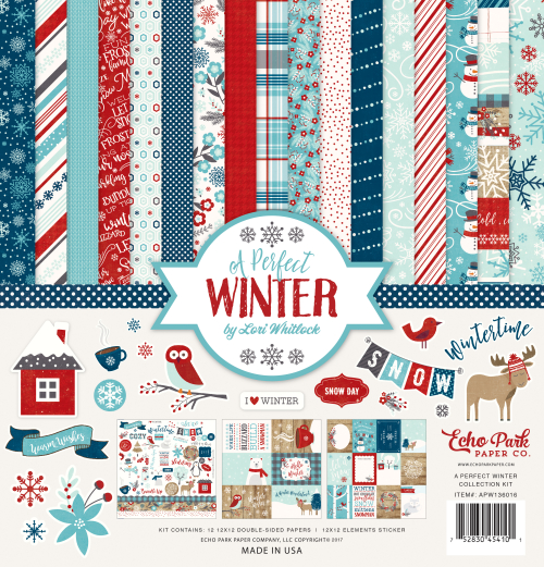 Echo Park Paper Co. A Perfect Winter Collection | Creative Scrapbooker Magazine
