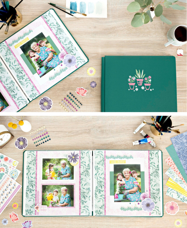 Full Bloom Collection by Creative Memories | Giveaway | Creative Scrapbooker Magazine