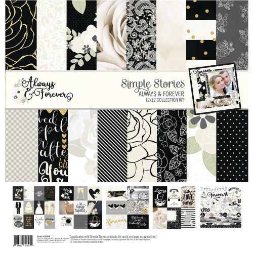 Always & Forever Collection by Simple Stories | Creative Scrapbooker Magazine