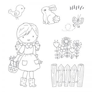 Garden Girl stamp set by Stampin' Up! | Creative Scrapbooker Magazine