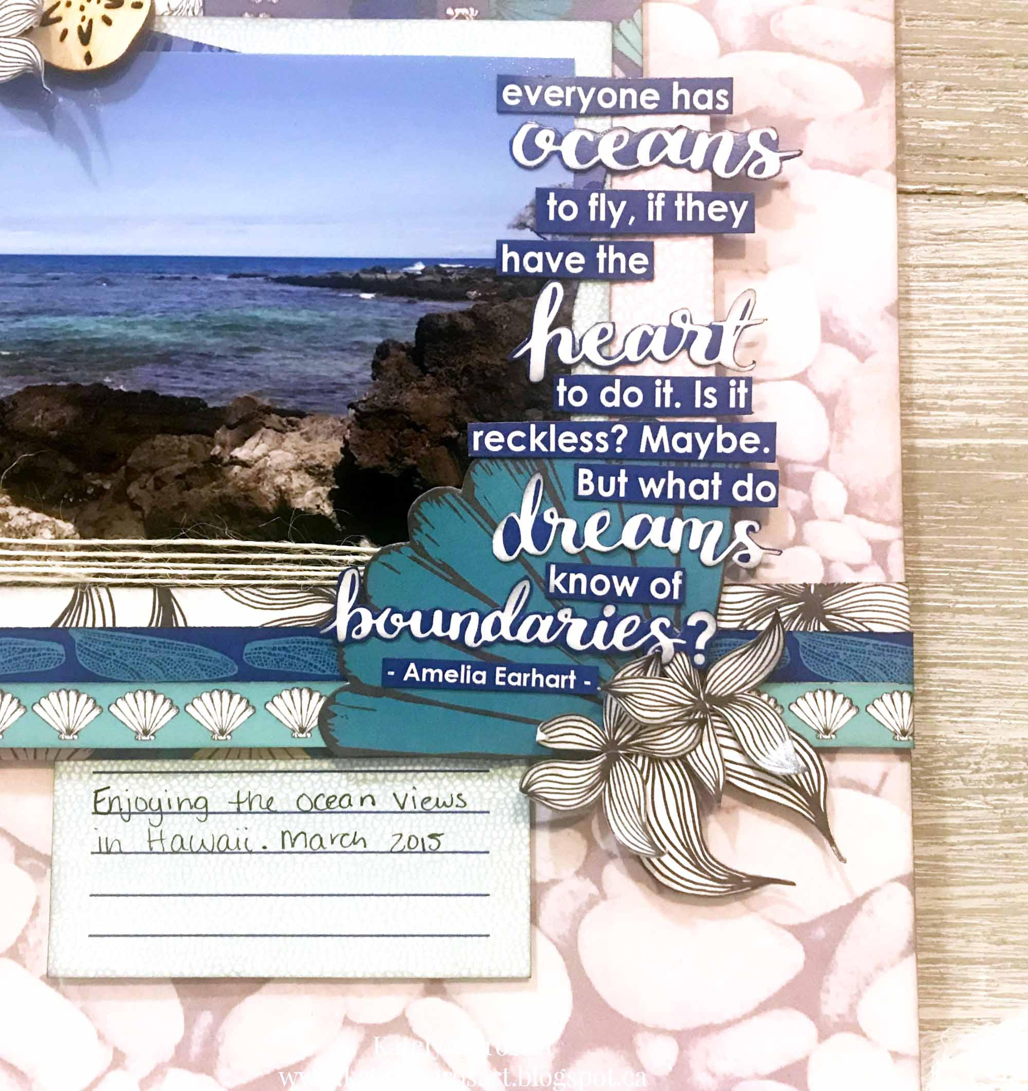 Scrapbook Layout designed by Katelyn Grosart featuring Wild Whimsy Collection by Wild Whisper Designs | Creative Scrapbooker Magazine