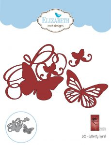 Elizabeth Craft Designs Butterfly Flourish Die