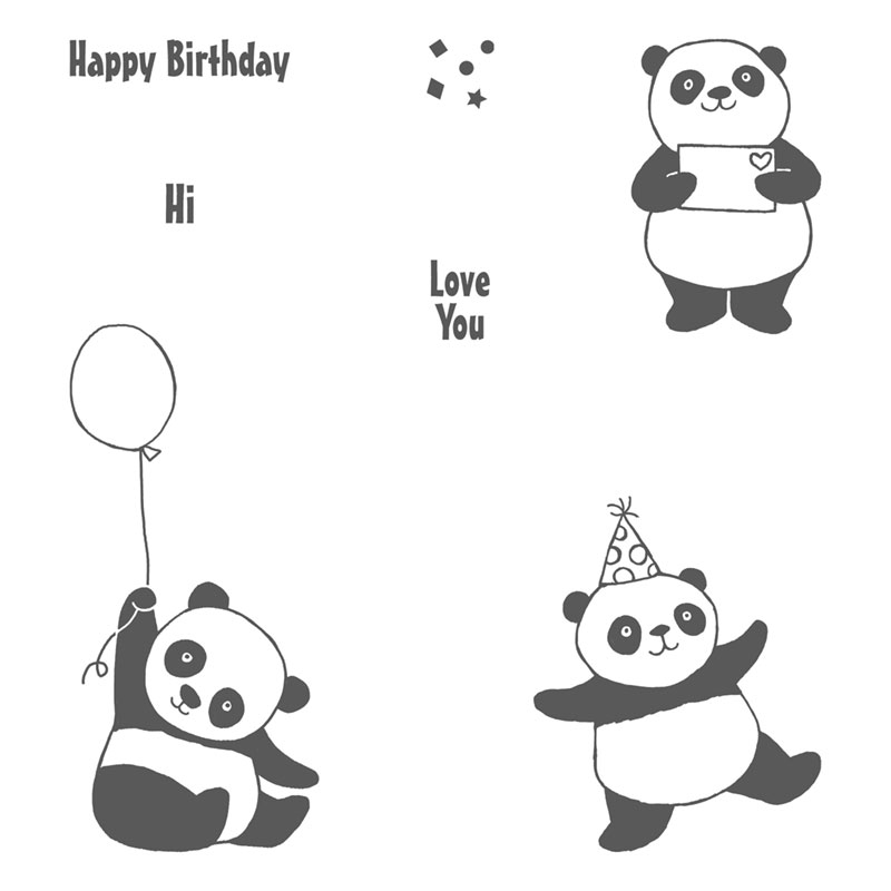 Party Pandas Stamp Collection by Stampin' Up! | Creative Scrapbooker Magazine