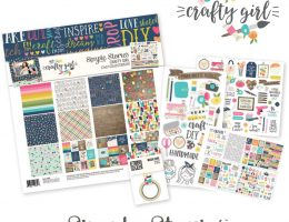 Crafty Girl Collection by Simple Stories   Giveaway   Creative Scrapbooker Magazine