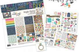 Crafty Girl Collection by Simple Stories | Giveaway | Creative Scrapbooker Magazine