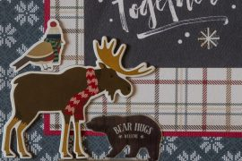 Carta Bella / Cabin Fever collection / FUN embellishments