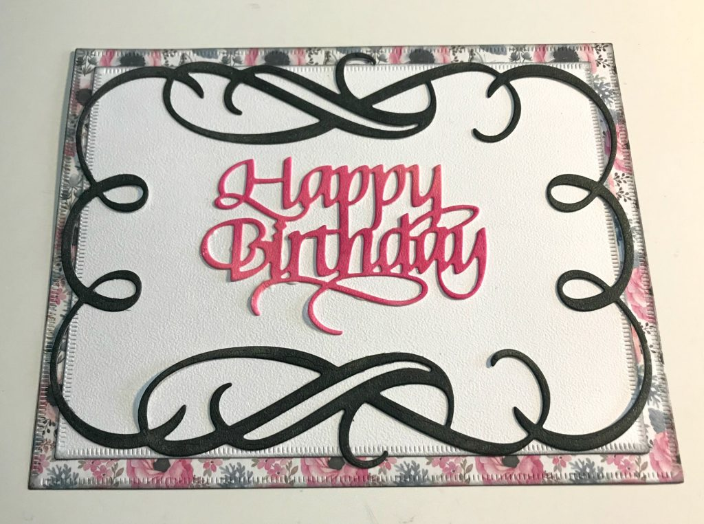 Step by step to create a birthday card featuring Elizabeth Craft Designs and Ranger | Creative Scrapbooker Magazine
