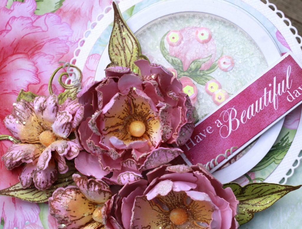 Heartfelt Creations Sweet Peony Collection   Creative Scrapbooker Magazine