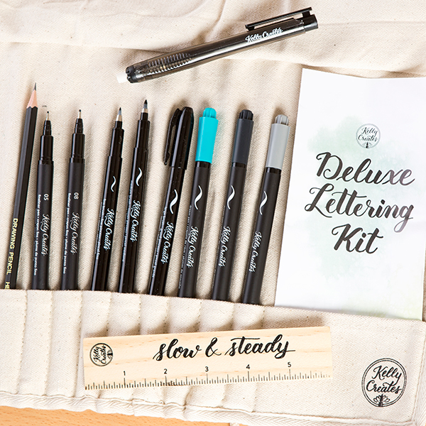 Kelly Creates Deluxe Lettering Kit / American Crafts / scrapbooking