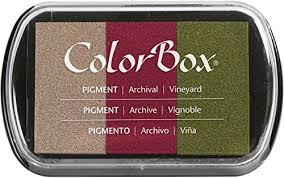 Clearsnap ColorBox Pigment ink Vineyard collection