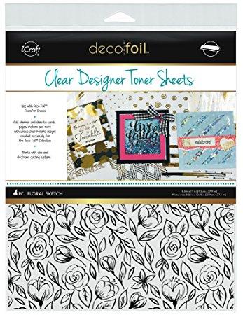 Decofoil Clear Designer Toner Sheets | Creative Scrapbooker Magazine