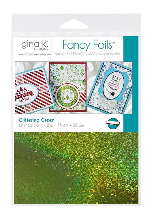 Gina K. Designs Fancy Foils Glittering Green | Creative Scrapbooker Magazine