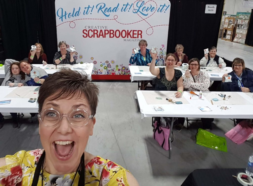 Karen Ellis at ScrapFest | Creative Scrapbooker Magazine