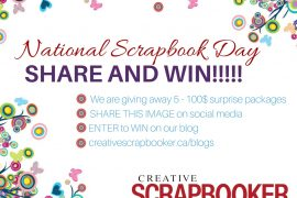 National Scrapbook Day Giveaway | Creative Scrapbooker Magazine