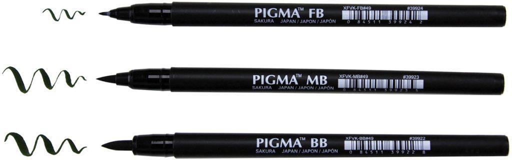 Sakura Pigma Profession Brush Pen | Creative Scrapbooker Magazine