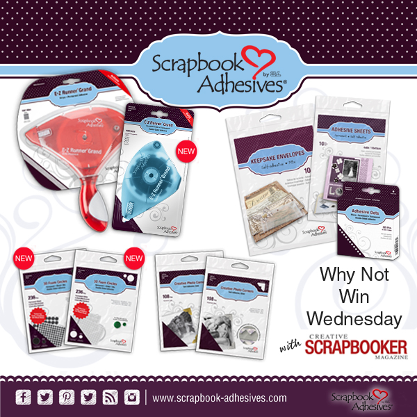 Scrapbook Adhesives by 3L Giveaway Prize Package | Creative Scrapbooker Magazine