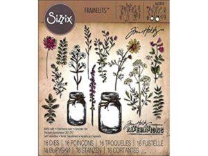 Tim Holtz for Sizzix Flower Jar Framelit dies | Creative Scrapbooker Magazine