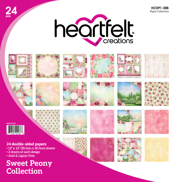 Heartfelt Creations Sweet Peony Collection | Creative Scrapbooker Magazine