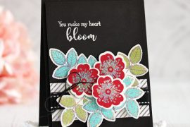 Laurie Schmidlin card featuring Therm O Web Foils | Creative Scrapbooker Magazine