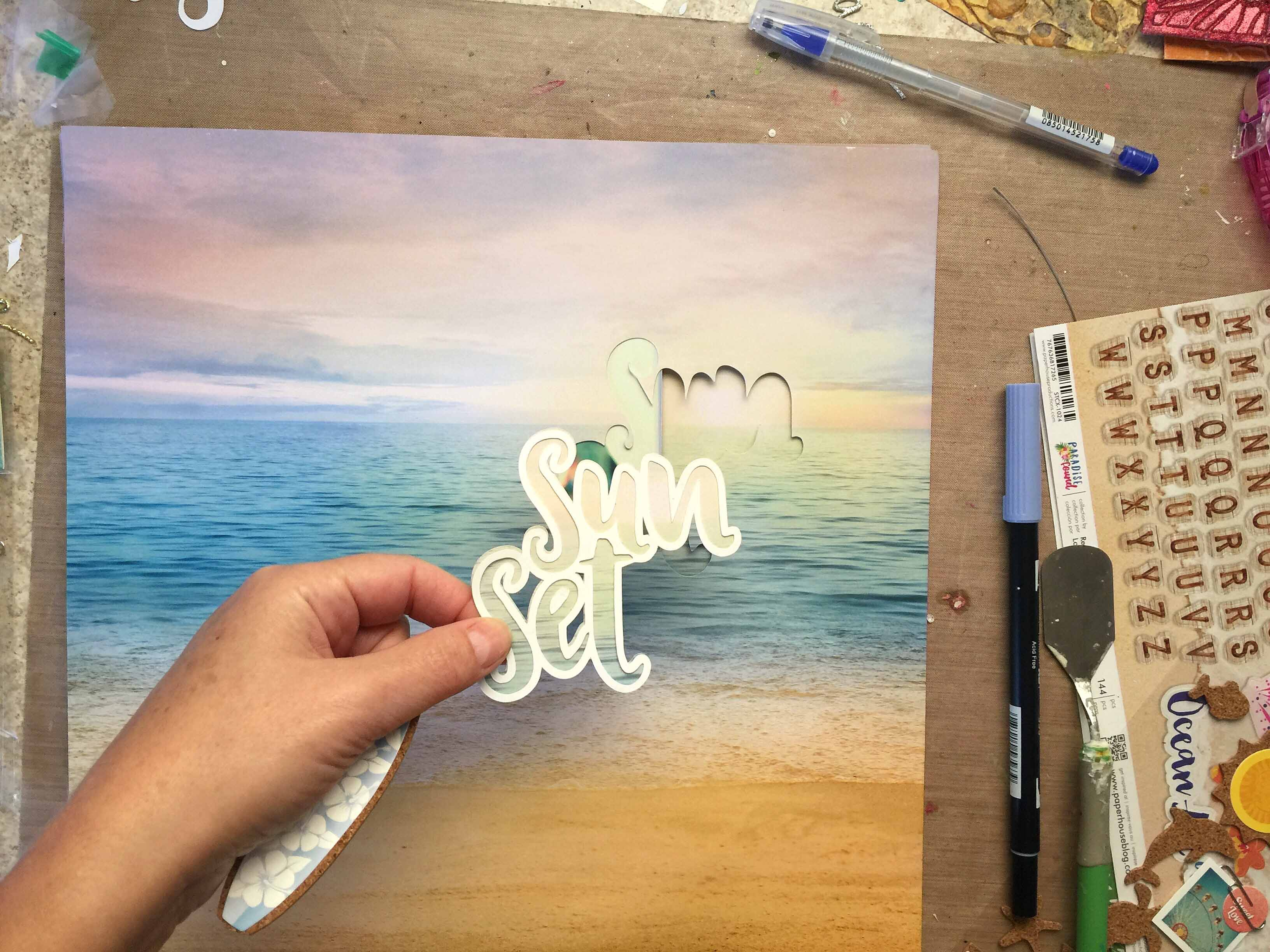 Paradise Found Beach Collection By Paper House Productions
